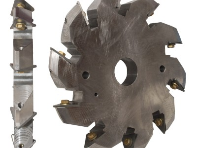 Chamfer Head with Indexable Carbide Inserts